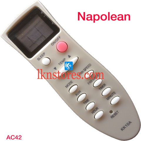 Napolean AC Air Condition remote control