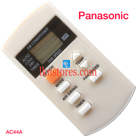 Panasonic AC Air Condition remote control | LKNSTORES
