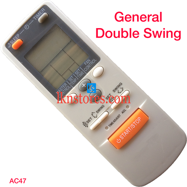 General AC Air Condition Remote Compatible AC47