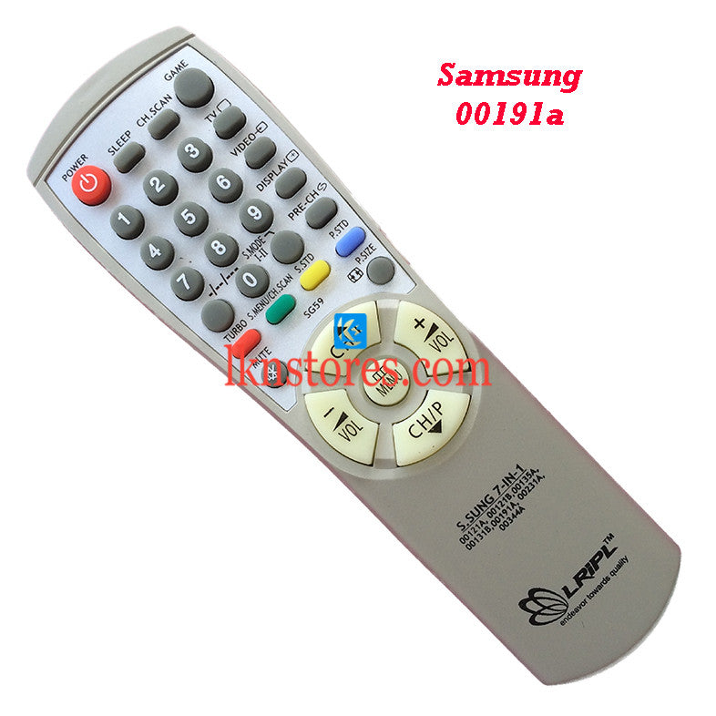 Samsung 191A replacement remote control