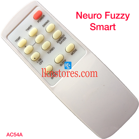 Neuro Fuzzy AC Air Condition remote control