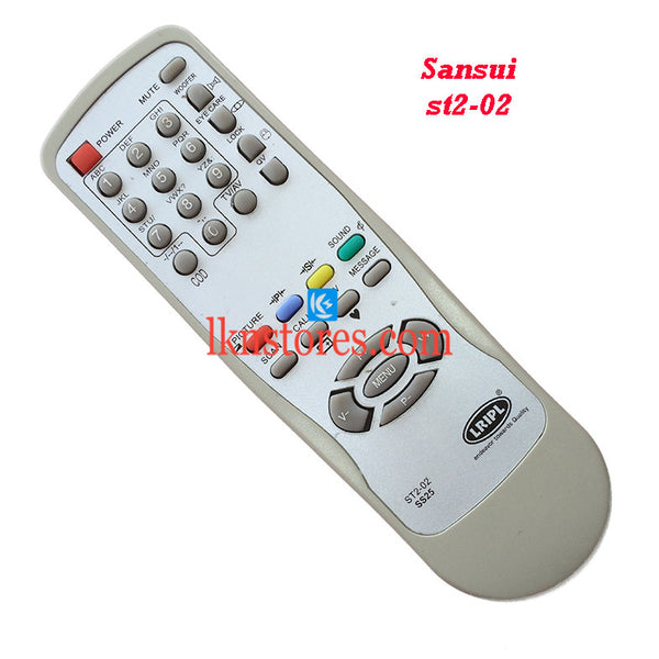 Sansui ST2 02 replacement remote control