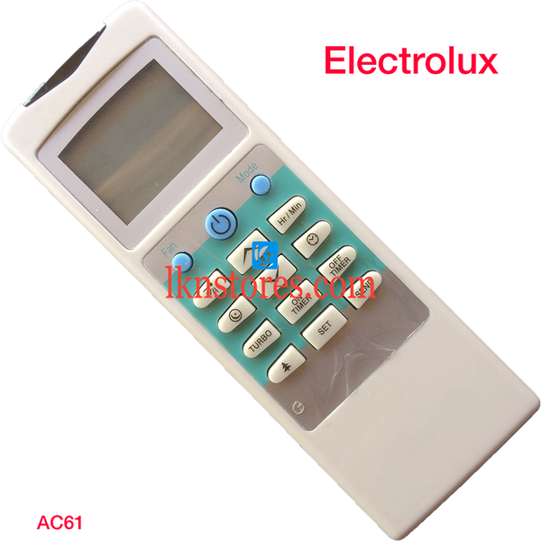 ELECTROLUX AC AIR CONDITION REMOTE COMPATIBLE AC61 - LKNSTORES