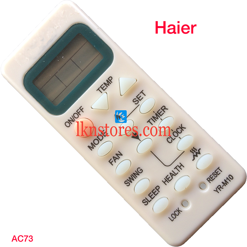 Haier AC Air Condition Remote Compatible AC73