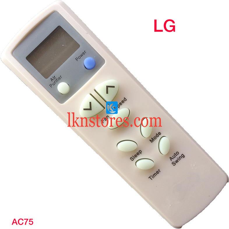 LG AC Air Condition Remote Compatible AC75