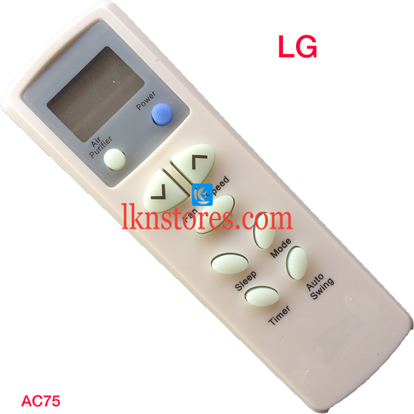 LG AC Air Condition Remote Compatible AC75 - LKNSTORES