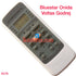 BLUESTAR ONIDA VOLTAS GODREJ AC AIR CONDITION REMOTE COMPATIBLE AC78 - LKNSTORES