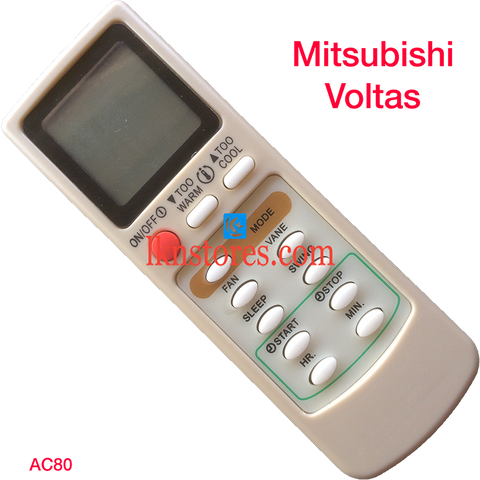 Mitsubishi AC Air Condition remote control