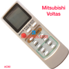 MITSUBISHI VOLTAS AC AIR CONDITION REMOTE
