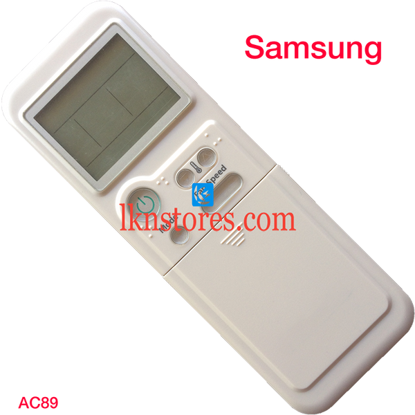 SAMSUNG AC AIR CONDITION REMOTE COMPATIBLE AC89 - LKNSTORES