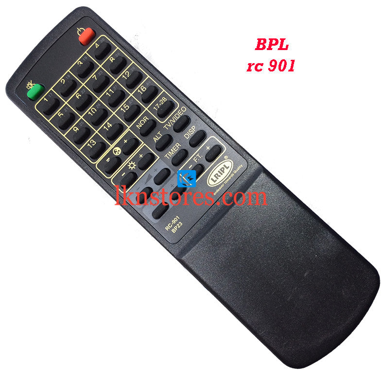BPL RC 901 replacement remote control