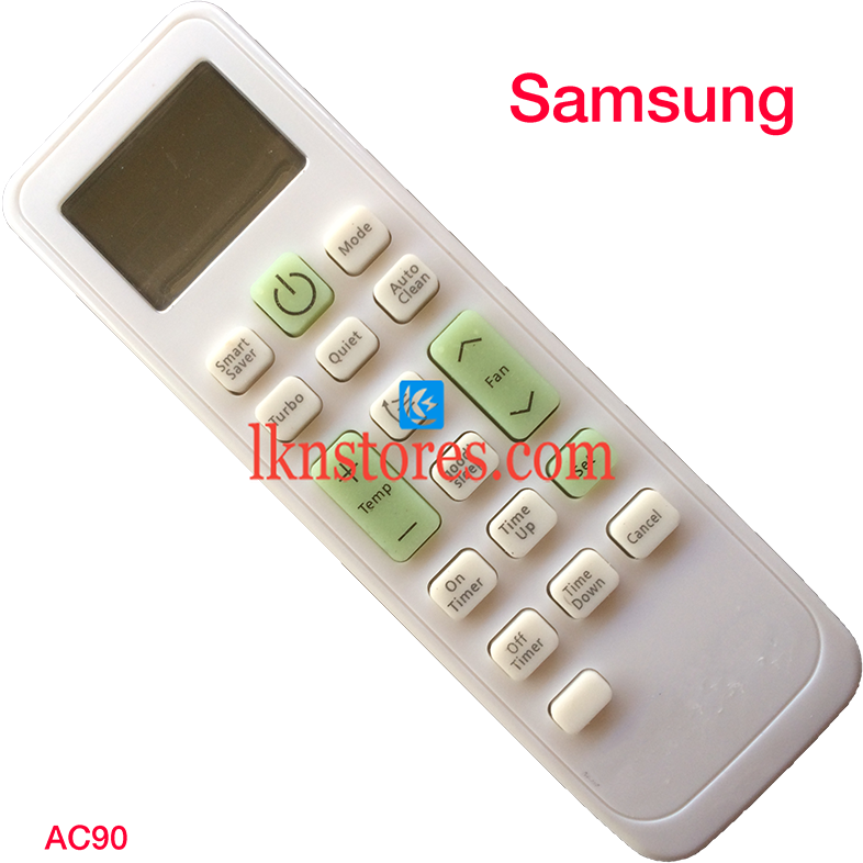 SAMSUNG AC AIR CONDITION REMOTE COMPATIBLE AC90