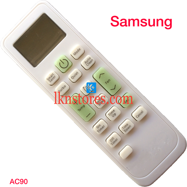 SAMSUNG AC AIR CONDITION REMOTE COMPATIBLE AC90 - LKNSTORES