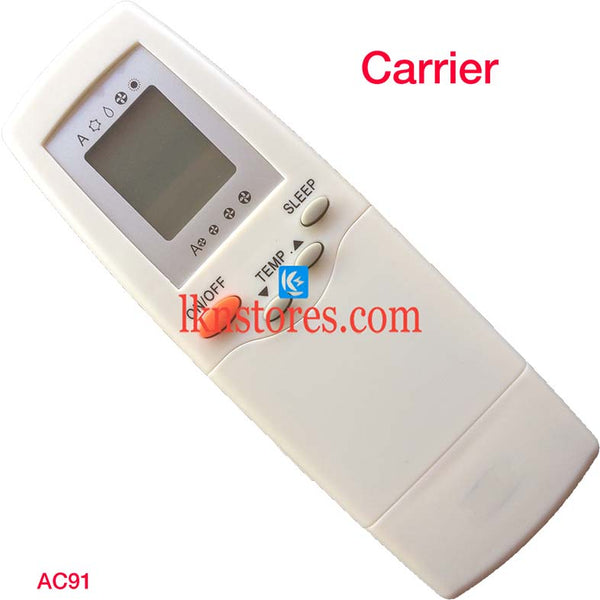 CARRIER AC AIR CONDITION REMOTE COMPATIBLE AC91 - LKNSTORES