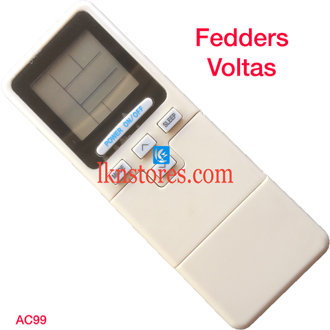 Fedders AC Air Condition remote control