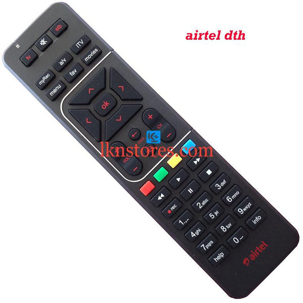 Airtel DTH remote control Best Compatible - LKNSTORES