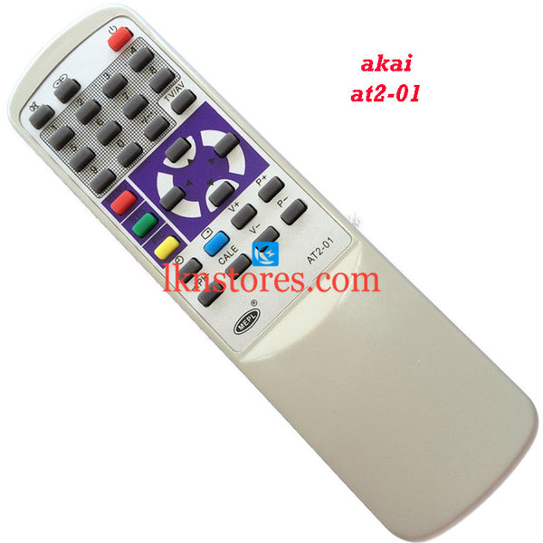 Akai AT2 01 replacement remote control - LKNSTORES