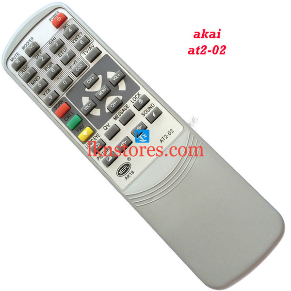 Akai AT2 02 replacement remote control