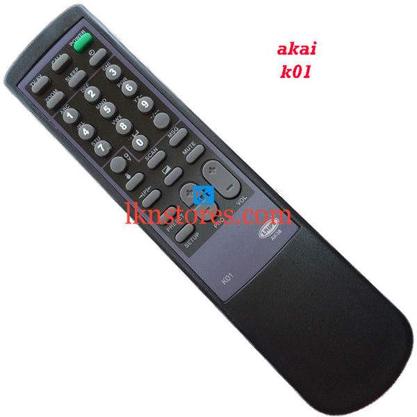 Akai K01 replacement remote control - LKNSTORES