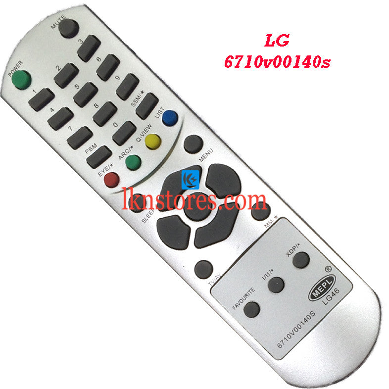 LG 6710V00140S replacement remote control