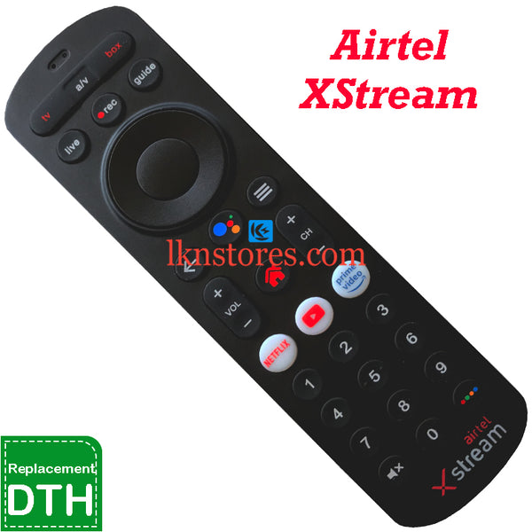 Airtel DTH Xstream remote control Compatible