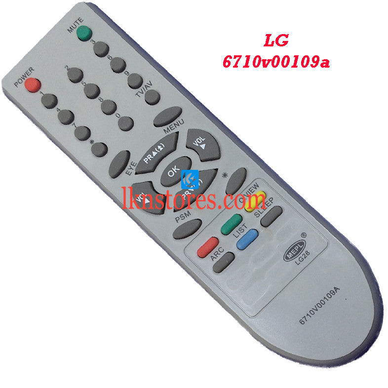 LG 6710V00109A replacement remote control