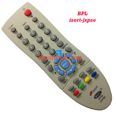 BPL ISORT JXPSE replacement remote control