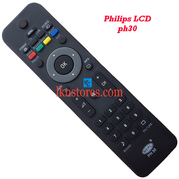 Philips PH30 LED replacement remote control - LKNSTORES