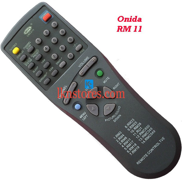 Onida RM 11 replacement remote control - LKNSTORES
