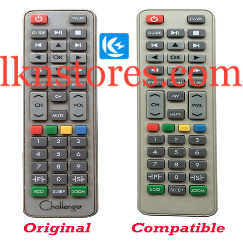 Challenger CJE32HH LED replacement remote control - LKNSTORES
