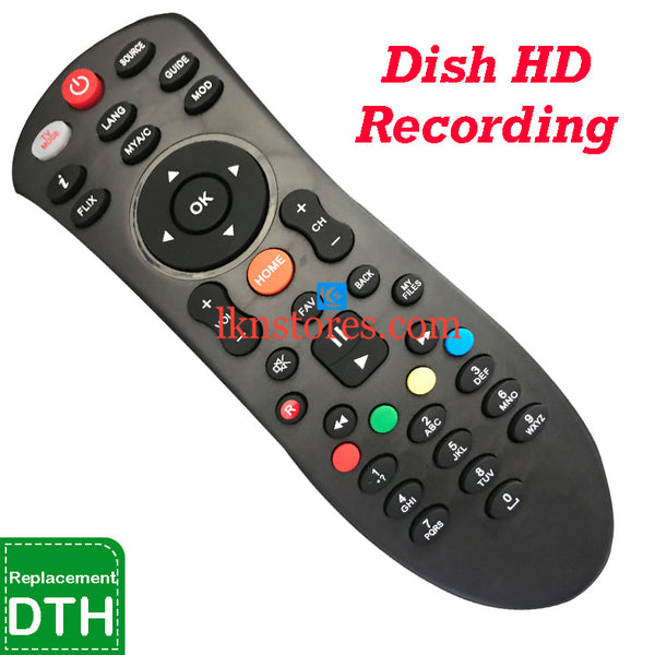 Dish HD Set Top Box Recording Replacement Remote Control-LKNSTORES