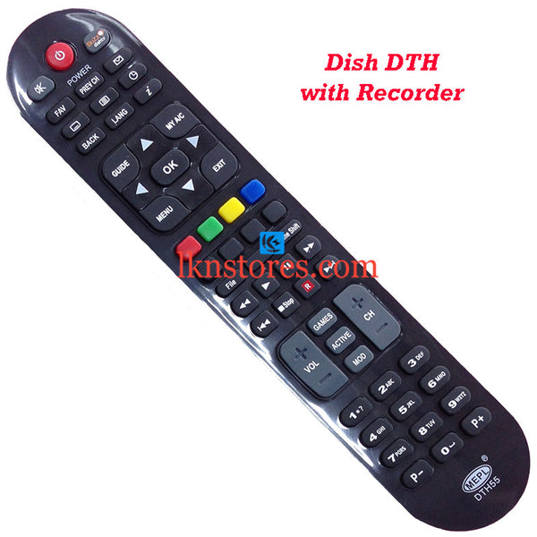 Dish DTH HD Recorder replacement remote control