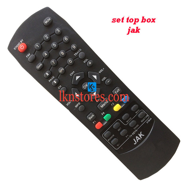 DTH STB JAK OLD remote control replacement - LKNSTORES