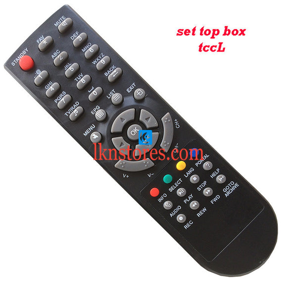 DTH STB TCCL remote control replacement - LKNSTORES