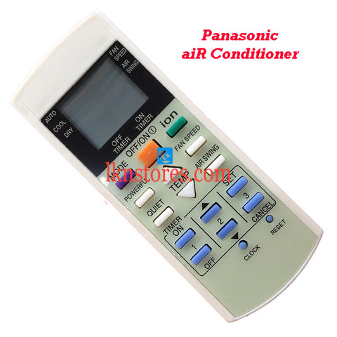 Panasonic Air Conditioner replacement remote control