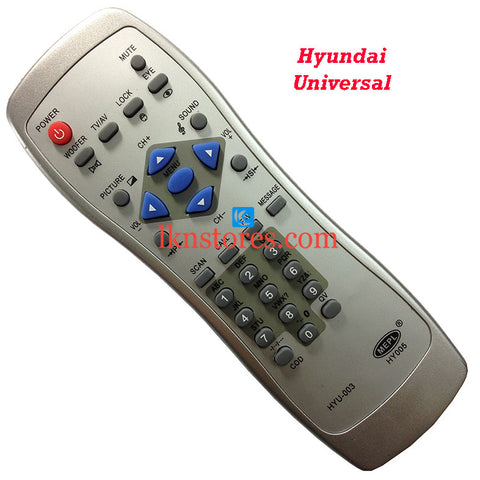 Hyundai TV Remote Control