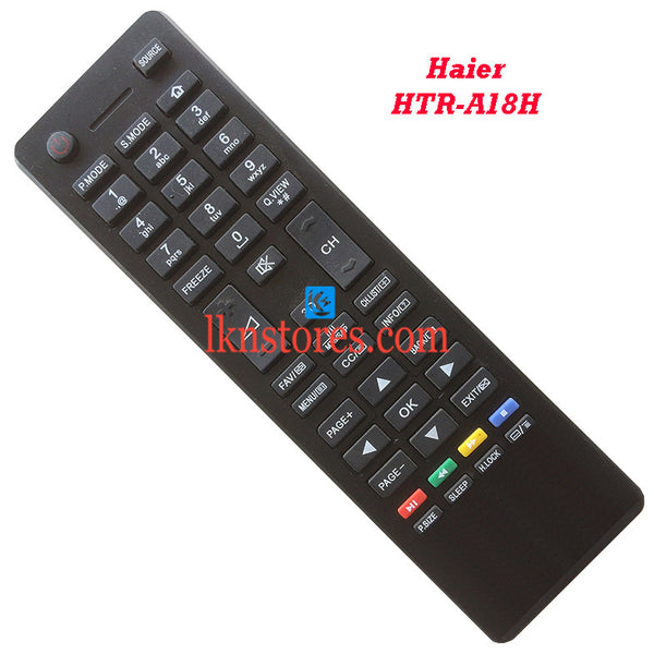 Haier HTR A18H LED Replacement Remote Control - LKNSTORES