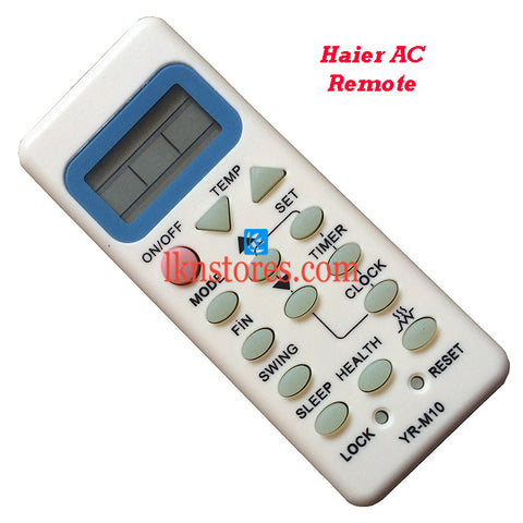 Haier Air Conditioner replacement remote control 2