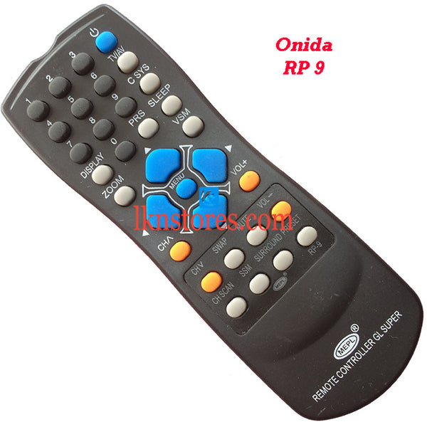 Onida RP 9 replacement remote control - LKNSTORES