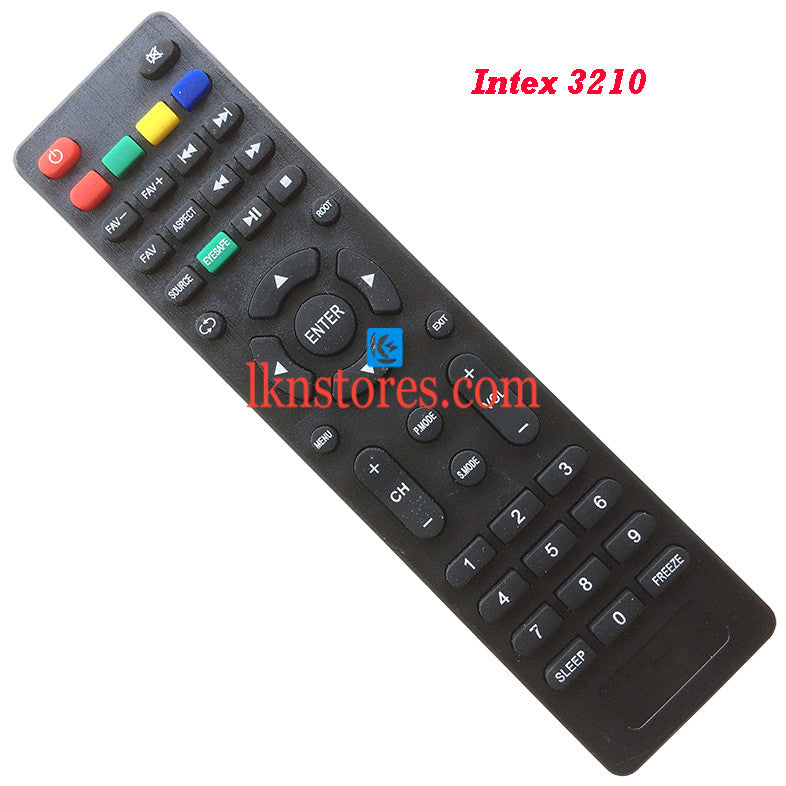 Intex LED LCD 3210 Replacement Remote Control Compatible model1