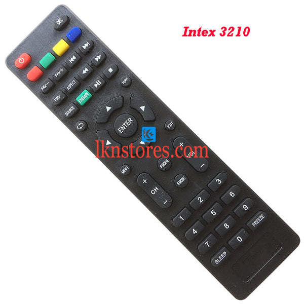 Intex LED LCD 3210 Replacement Remote Control Compatible model1 - LKNSTORES