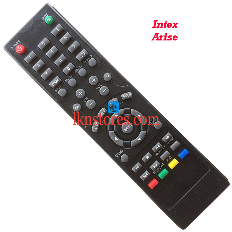 Intex LED LCD Arise Replacement Remote Control Compatible model2