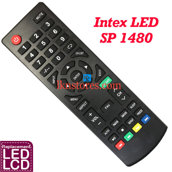 Intex LED LCD 3215 3219 3213 Replacement Remote Control