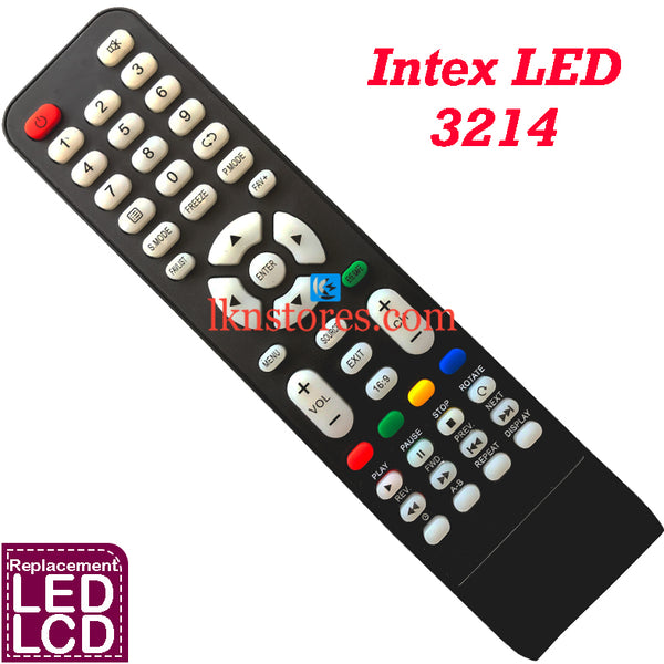 Intex 3214 LED Remote Control Compatible Replacement