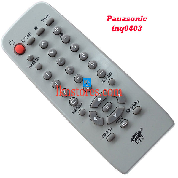 Panasonic TNQ0403 replacement remote control