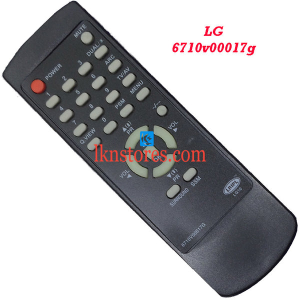 LG 6710V00017G replacement remote control