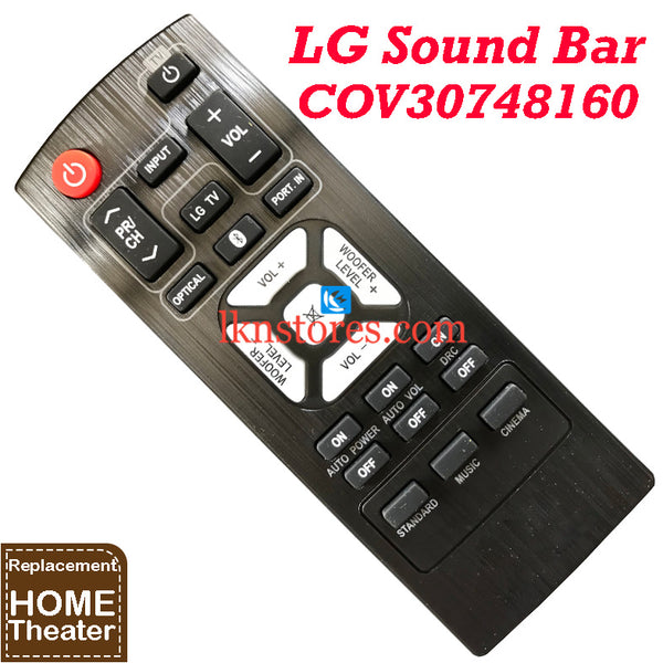 LG NB2540 NB2540A S24A1W S24A1W control Replacement Remote Control