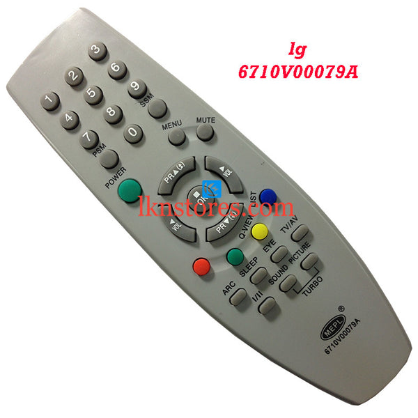 LG 6710V00079A replacement remote control - LKNSTORES