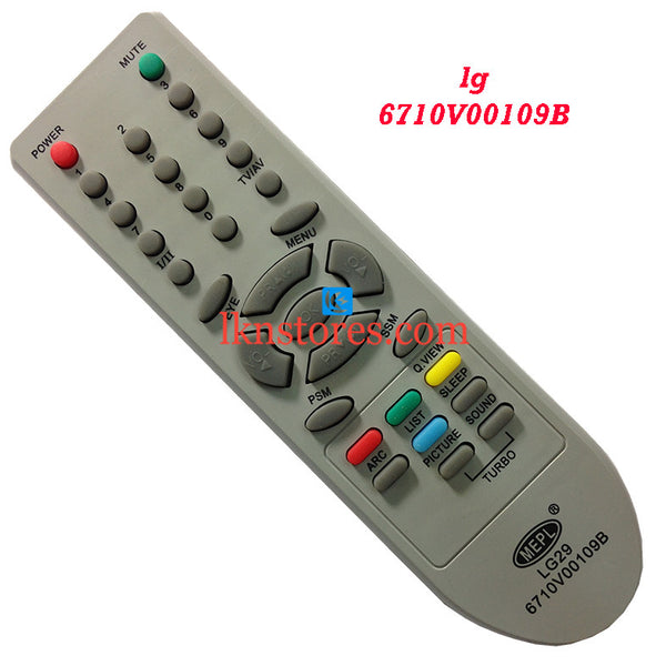 LG 6710V00109B replacement remote control - LKNSTORES