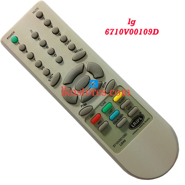 LG 6710V00109D replacement remote control - LKNSTORES